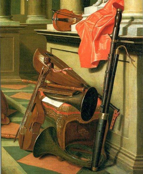Detalle del cuadro de Horemans