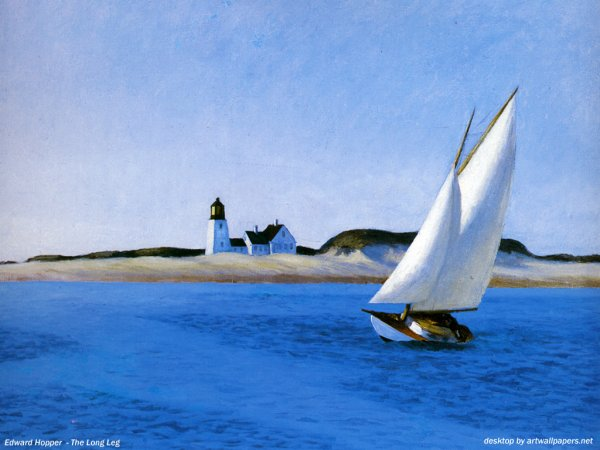 Edward Hopper, The long leg